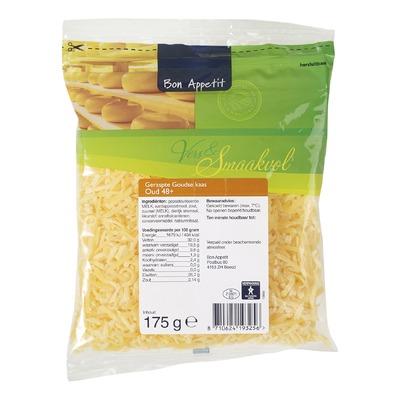 Bon Appétit geraspte kaas  oud