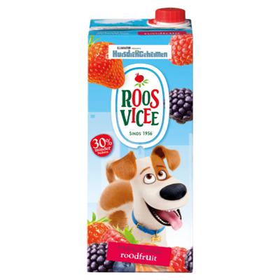Roosvicee Fruitig Drankje Roodfruit 1,5 L