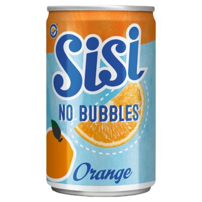 Sisi No Bubbles Orange Blikje 0,15 Liter