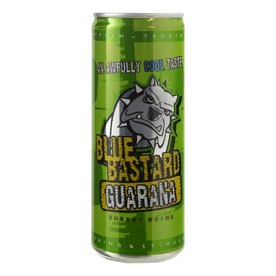 Blue Bastard energy drink