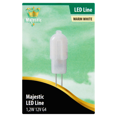 Majestic Led Lamp Mat Warm White 1,2W