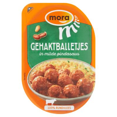 Mora snacks  gehaktballetjes mild