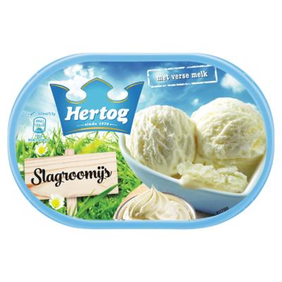 Hertog IJs Slagroom 900 ml