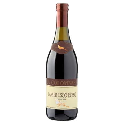 La Colombara Lambrusco Rosso Rood 0,75 L