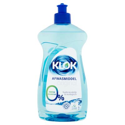 Klok Afwasmiddel Original 500 ml