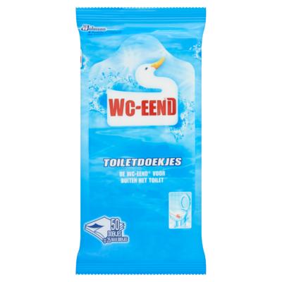 WC-Eend Toiletdoekjes 50 Stuks
