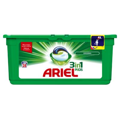 Ariel 3in1 PODS Regular Wasmiddel Capsules 28 Wasbeurten