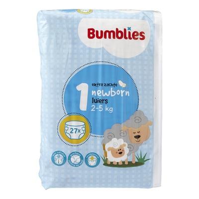 Bumblies Luiers 1 Newborn 2-5 kg 27 Stuks
