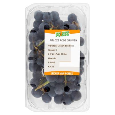 Poiesz Pitloze Rode Druiven Desert Seedless 500 g