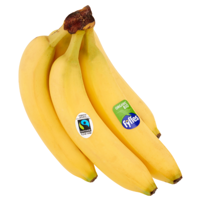 Poiesz Bio Fairtrade Bananen 5 Stuks