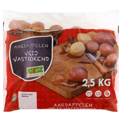 Poiesz Aardappelen Vrij Vastkokend 2,5 kg