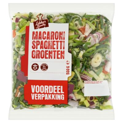 Macaroni Spaghetti Groenten Voordeelverpakking 500 g