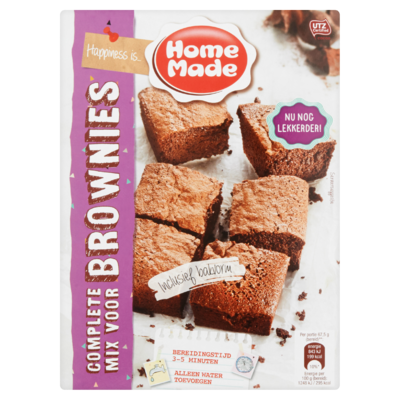 Home Made bakmix  brownies