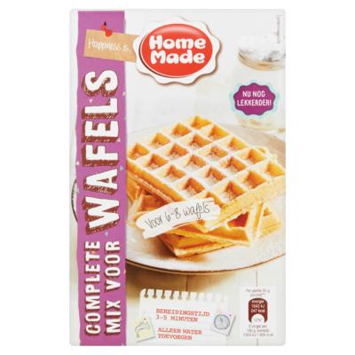 HomeMade Complete Mix voor Wafels 400 g