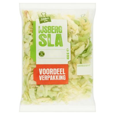 IJsbergsla Voordeelverpakking 400 g