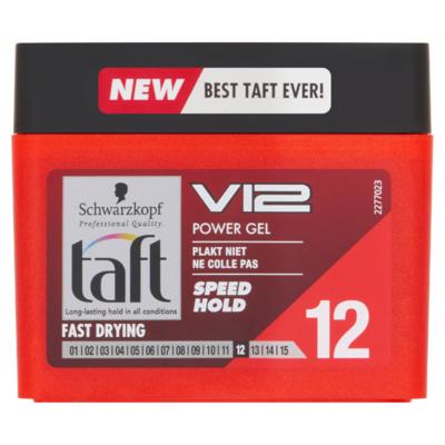 Taft V12 Power Gel Speed Hold 250 ml