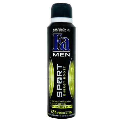 Fa Men Deodorant 72u Sport Energy Boost 150 ml