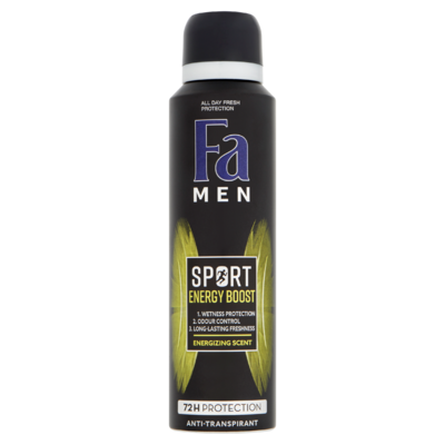 Fa Men Sport Energy Boost 72u Deodorant Spray 150 ml