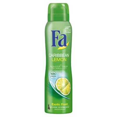 Fa Deodorant 48u Caribbean Lemon 150 ml
