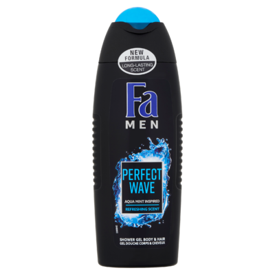 Fa Men Perfect Wave Douchegel & Shampoo 250 ml
