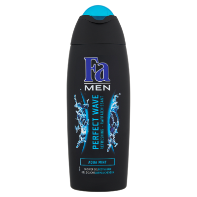 Fa Men Shower Gel & Shampoo Perfect Wave 250 ml