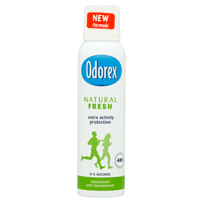 Odorex Natural Fresh Deodorant 150 ml