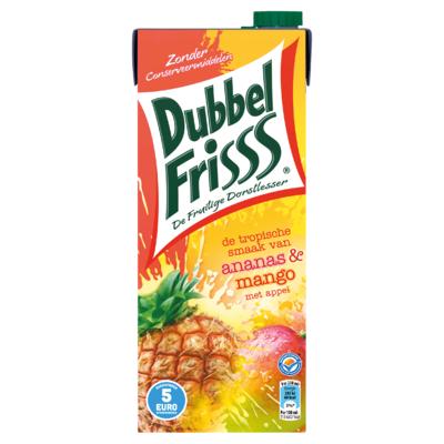 DubbelFrisss Ananas & Mango 1,5 L