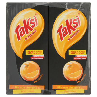 Taksi Sinaasappel 10 x 200 ml