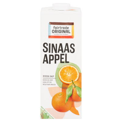 Fairtrade Original Sinaasappel Puur Sap 1 L