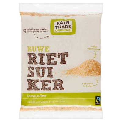 Fair Trade Original Ruwe Rietsuiker 500 g