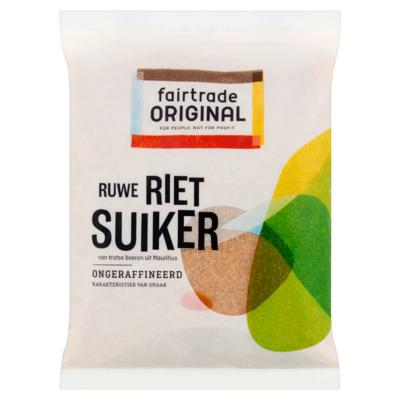 Fairtrade Original Ruwe Rietsuiker 500 g