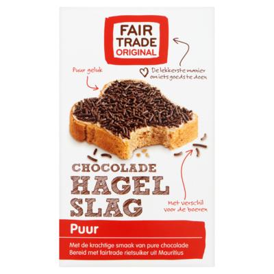 Fair Trade Original Chocolade Hagelslag Puur 400 g