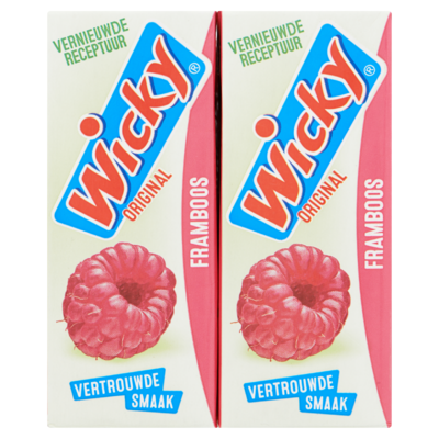 Wicky Original Framboos 10 x 0,20 L