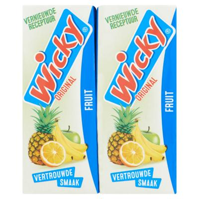 Wicky Original Fruit 10 x 0,20 L