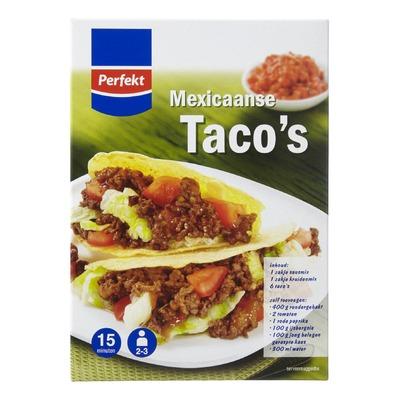 Perfekt Mexicaanse taco's