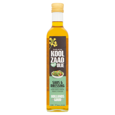 Hollands Goud Koolzaadolie Saus & Dressing 500 ml