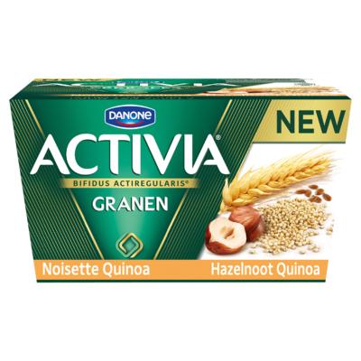 Activia Hazelnoot Quinoa 4 x 125 g