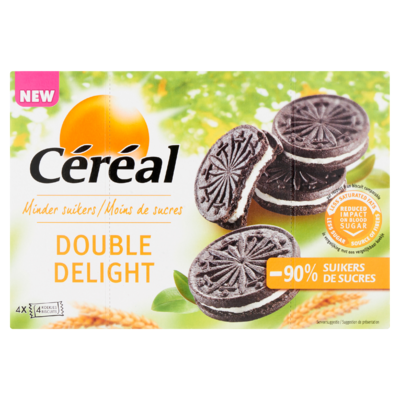 Céréal Minder Suikers Double Delight 16 Stuks 176 g