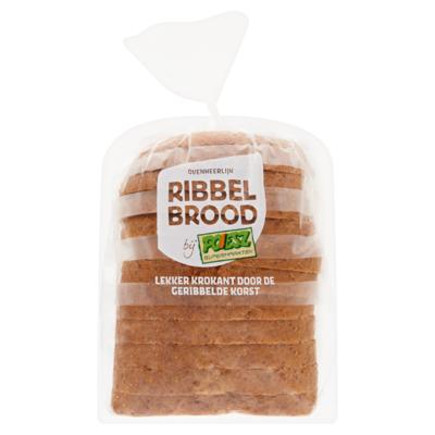 Poiesz Ribbelbrood Ribbel Tarwe Half