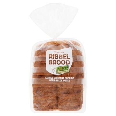 Poiesz Ribbelbrood Knip Tarwe Half