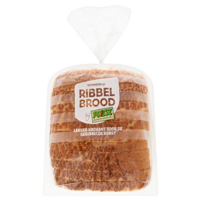Poiesz Ribbelbrood Tijgertarwe Half