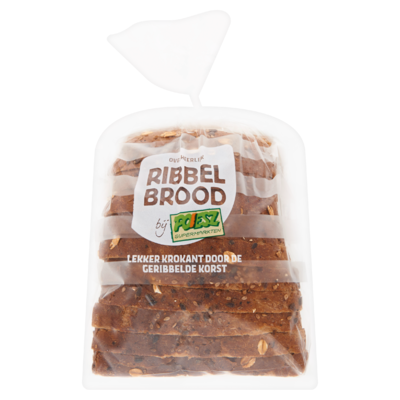 Poiesz Ribbelbrood Zonnevolkoren Half