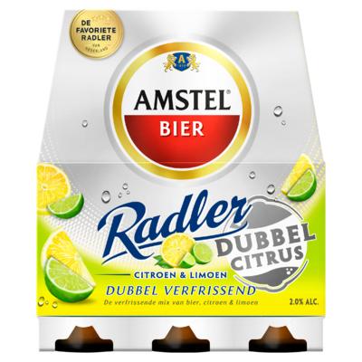 Amstel Dubbel Citrus Flessen 6 x 30 cl