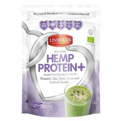 Linwoods Hemp protein+ beetroot powder