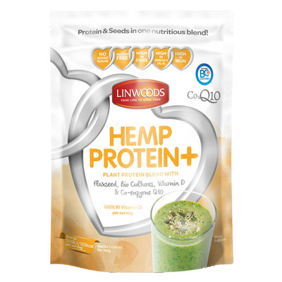 Linwoods Hemp protein+ vitamine d & co-enzyme q10