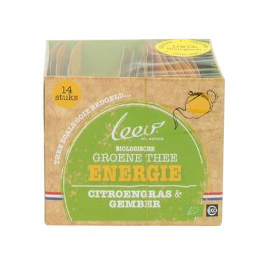 Leev Energie groene thee citroen gember