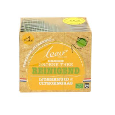 Leev Groene thee ijzerkruid & citroengras