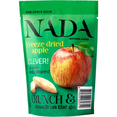 Nada Nothing Added Freeze dried apple