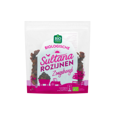 Huismerk Biologische Sultana Rozijnen Zongedroogd