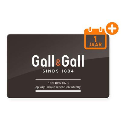 Gall&Gall Klantenkaart